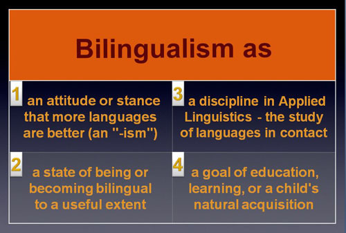 bilingualism and language teaching series bilingualism as the  language 2013 01 1 jpg